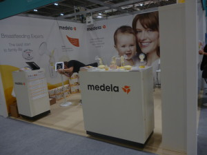 The Medela stand, looking lovely!