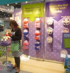 I also sought out the lovely Karen from Skibz with her fab range of bibs...
