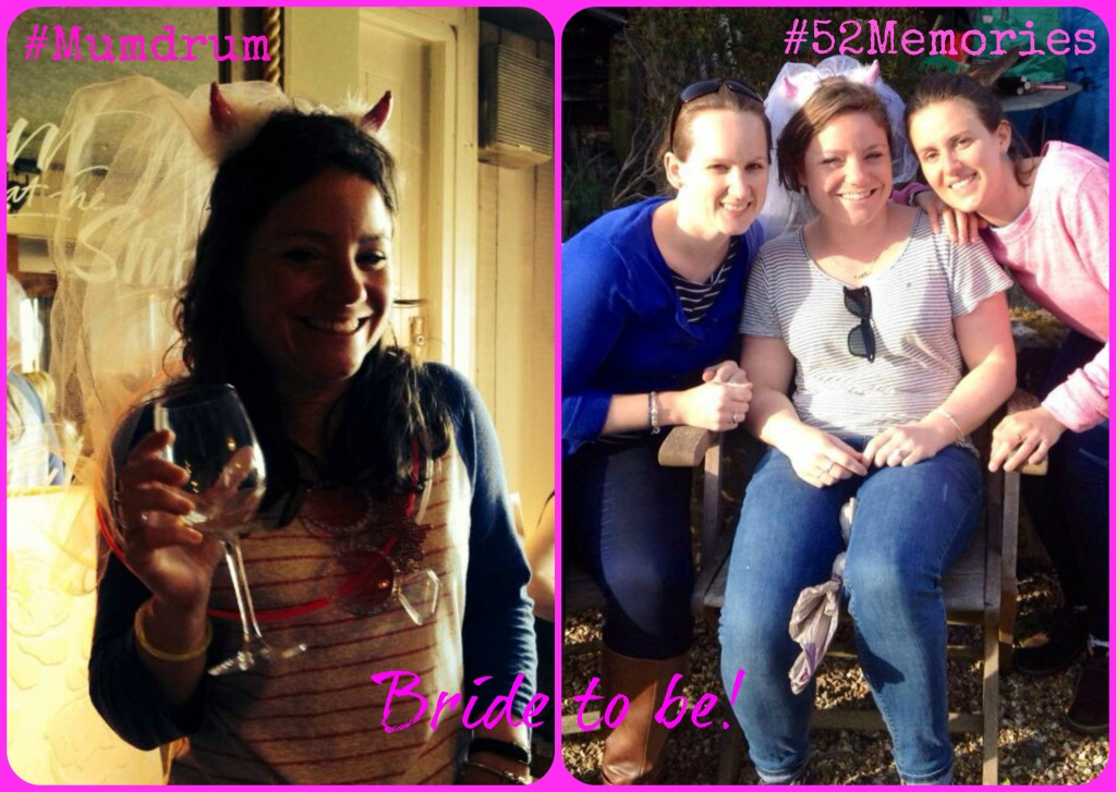 Week 13 Lisa was whisked away on her hen do – que a lot drinking and a lot of silliness!