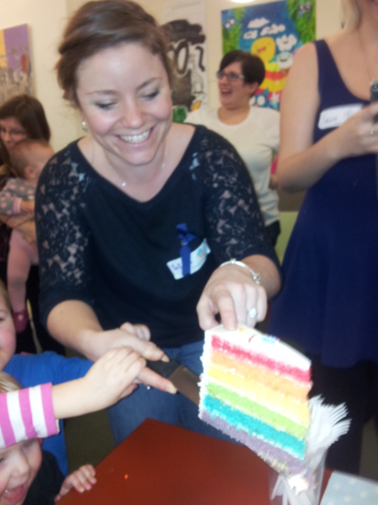 Week 3 It's party time! The rainbow cake was definitely a big hit I feel.