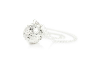BLJ Pretty Silver Bola With Chain