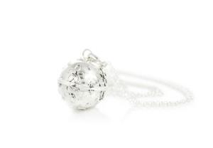 BLJ Pretty Silver Bola With Chain