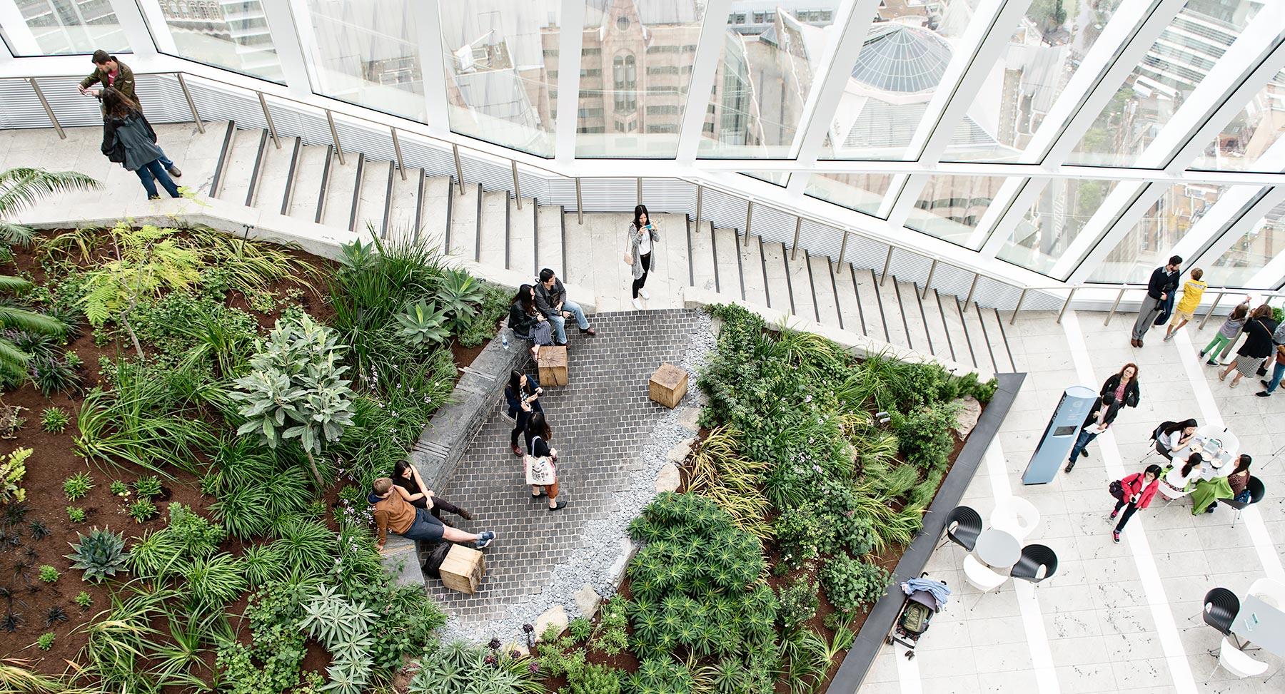 3d Design Interior Sky Garden London Stairs Bump Pr